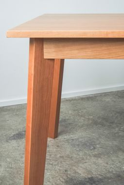 Custom Made Ventura Dining Table - Solid Cherry