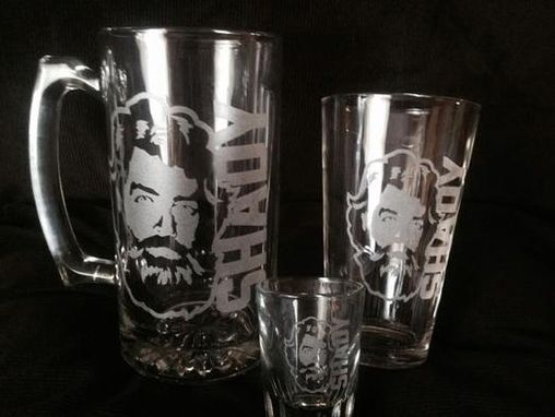 Custom Made Glassware Engraving