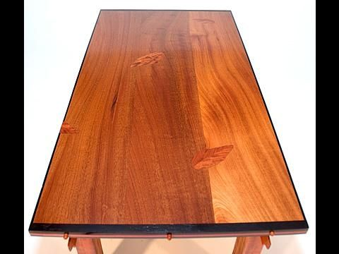 "Custom Made Coffee Table - ""Silk Road"""