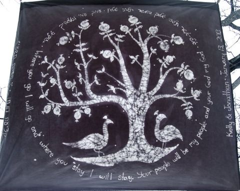Custom Made Tree Of Life Chuppah/Wall Hanging Two