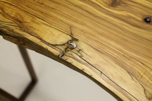 Custom Made Natural Entry  Table / Sofa Table