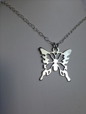 Custom Made Butterfly Necklace