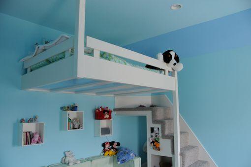 Handmade Built In Custom Loft Bed By Yoder Custom Design Custommade Com
