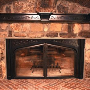 Custom Fireplace Doors Amp Screens Fireplace Set