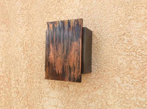 Custom Made Copper Light Sconce