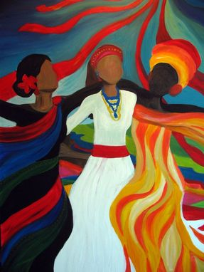 "Custom Made Original Acrylic Painting ""Soul Sista's"""