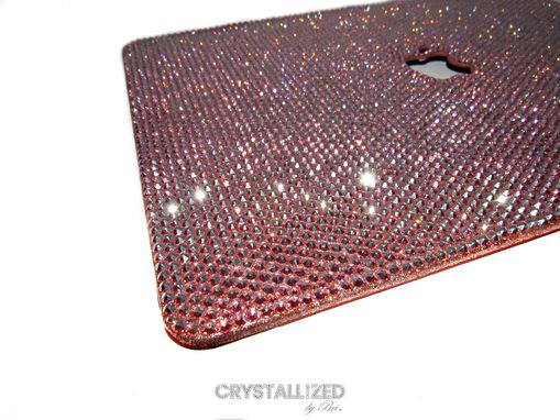 "Custom Made 15"" Mac Crystallized Laptop Case Macbook Pro Apple Tech Bling W/ Swarovski Crystals Bedazzled"