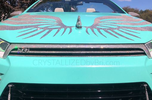 Custom Made Custom Grille Crystallized Car Bling Made With Swarovski Crystals Bedazzled