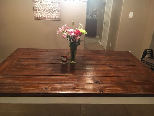 Custom Made Rustic Dinning Table