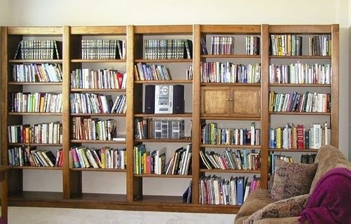 Custom Made Library Shelves