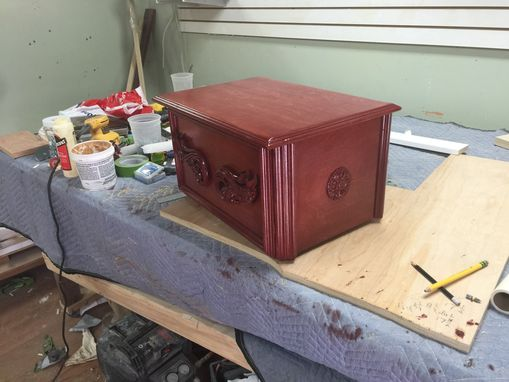 Custom Made Custom Cherry Shtender