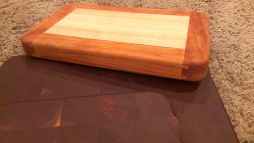 Custom Made Walnut / Maple And Cherry Cutting Boards