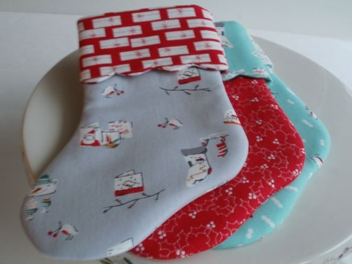 Custom Made Mini Christmas Stockings