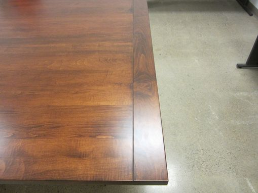Custom Made Conference Table / Industrial