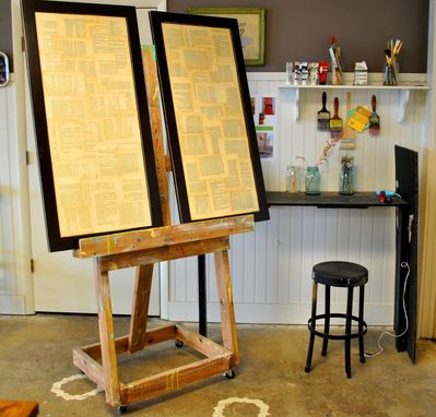 Custom Made Industrial Style Easel