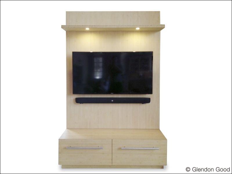 Custom Made Contemporary Tv Display Wall Unit Entertainment Center