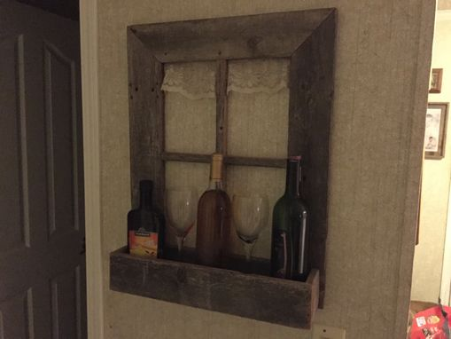 Custom Made Wine Rack Mail Holder