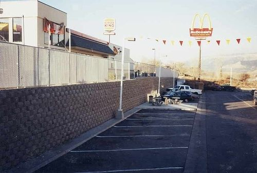 Custom Made Mcdonald's Retaining Wall
