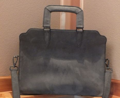 Custom Made Custom Designed Briefcase Made With Horween Leather