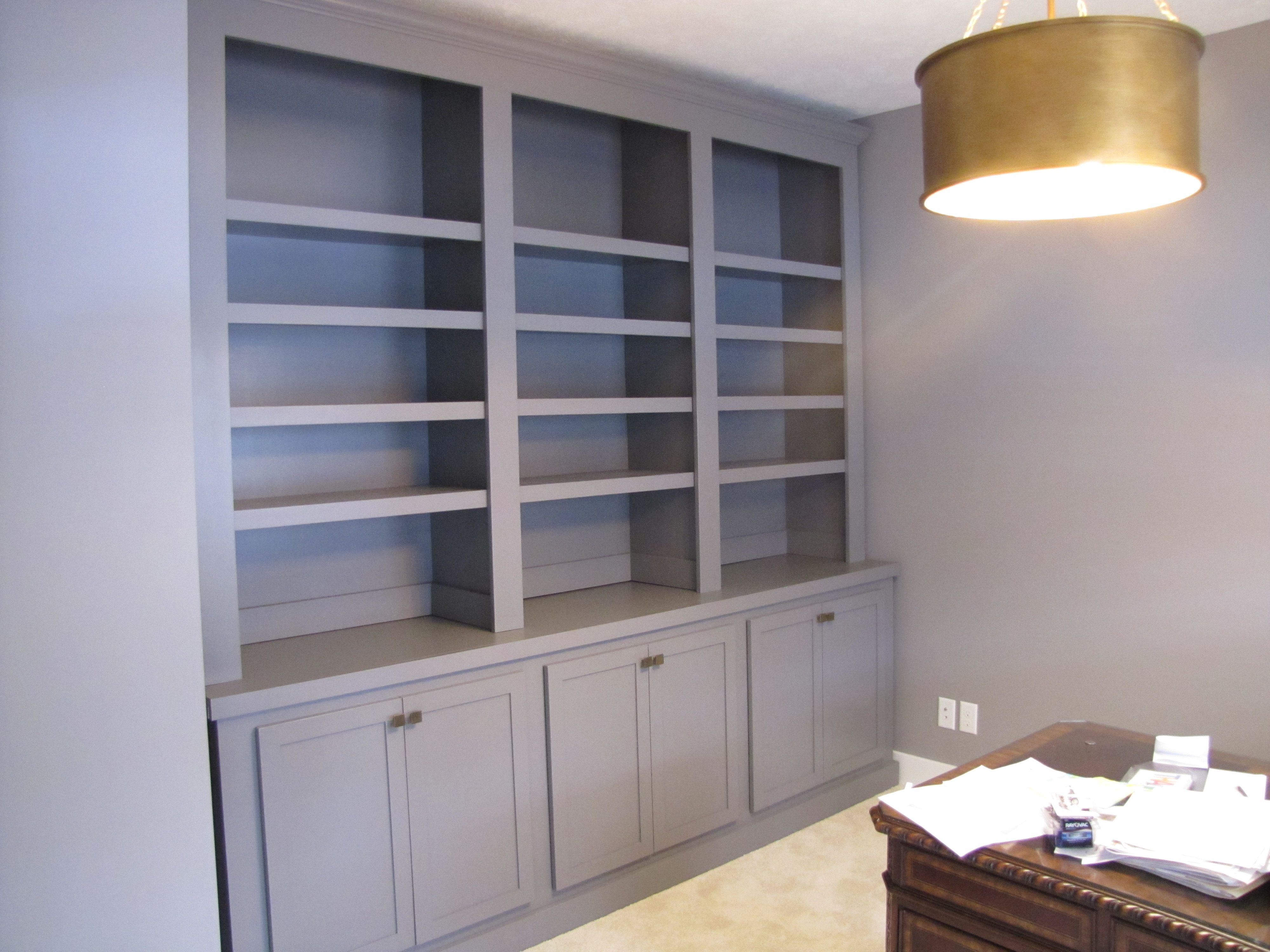Custom Made Bookcase Hutch By Weber Wood Designs
