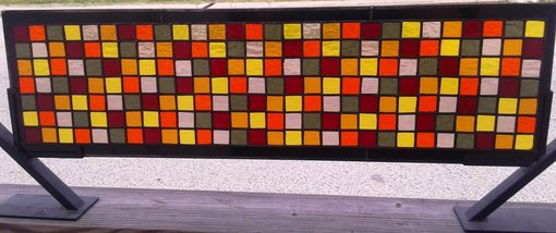 Custom Made Stained Glass Panel - Fall Colors Ii (P-60)