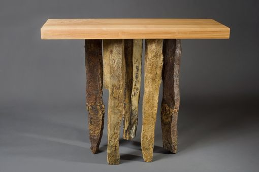 Custom Made Basalt Hall Table
