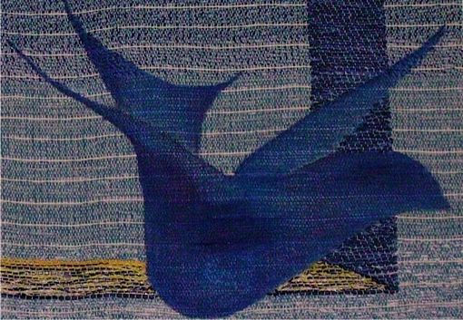 Custom Made Wall Tapestry: Bird Aloft