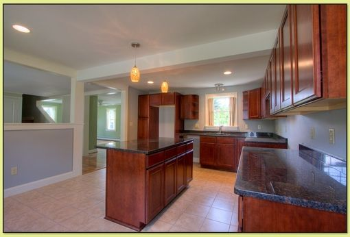 Custom Made Cherry Kitchen Cabinetry