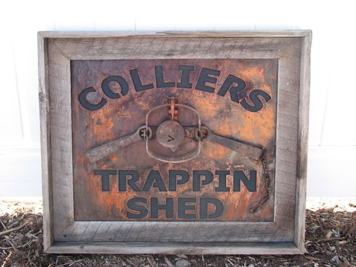Custom Made Metal Signwork