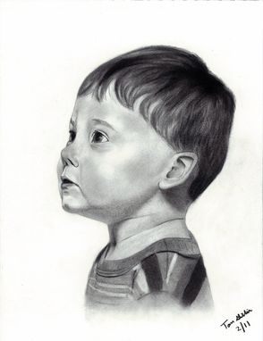 Custom Made Portrait Drawing Of My Son