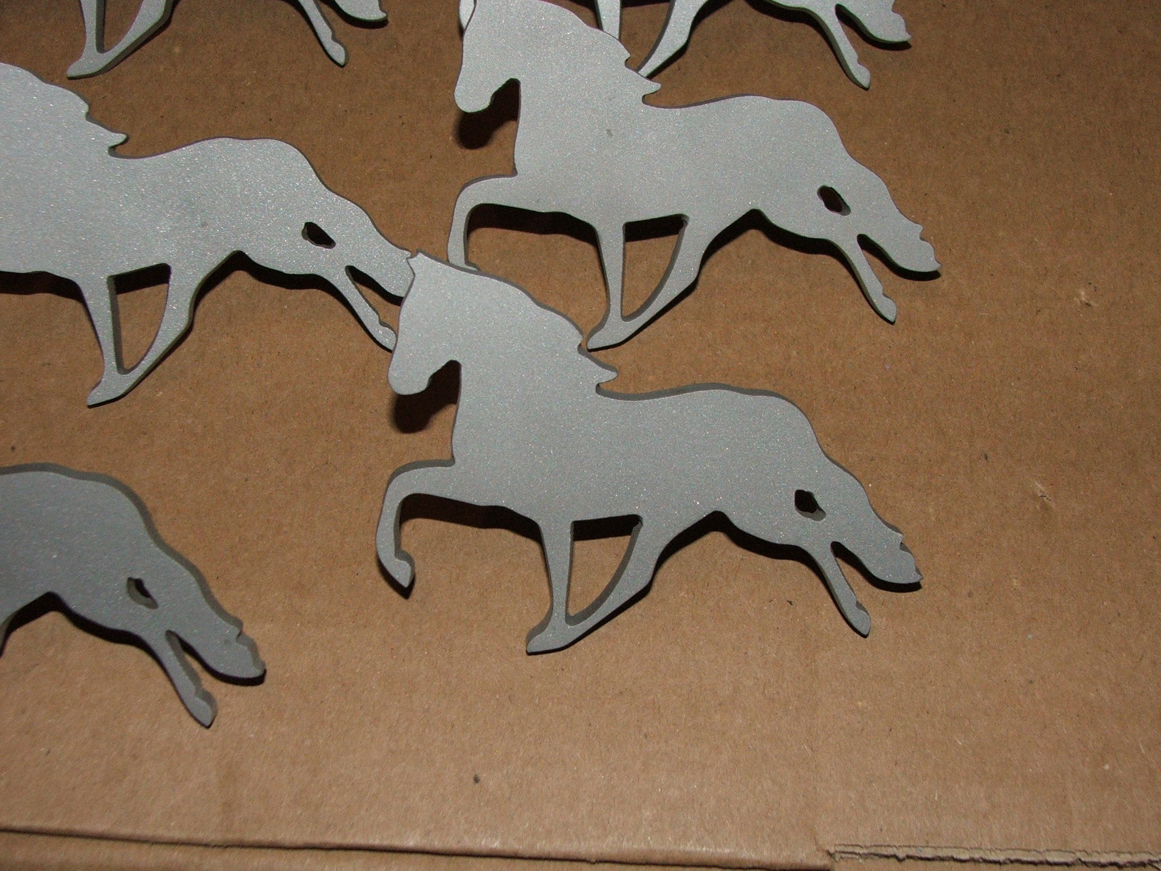 Custom Cabinet Pulls Buy A Handmade Horse Outline Cabinet Pulls Handles Cnc Plasma Cut