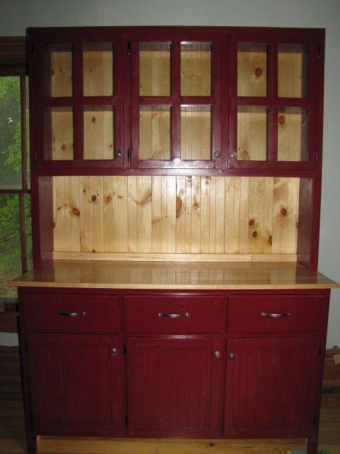 Handmade Rustic Kitchen Hutch By Weber Wood Designs
