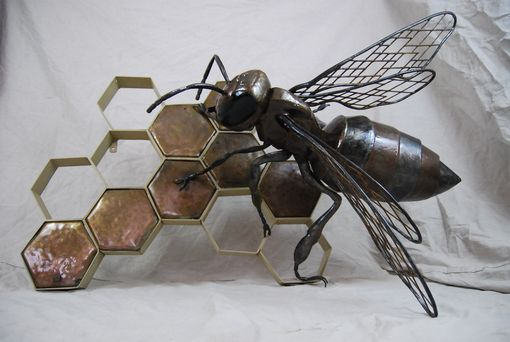 Custom Made Custom Wall Bee Sculpture