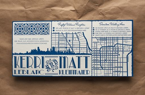 Custom Made Wedding Invitations - Rock Club