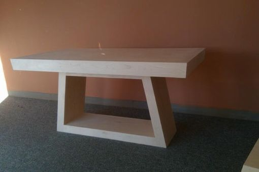 Custom Made Trapezoid Table