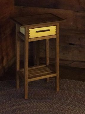 Custom Made Craftsman Style Night Stand