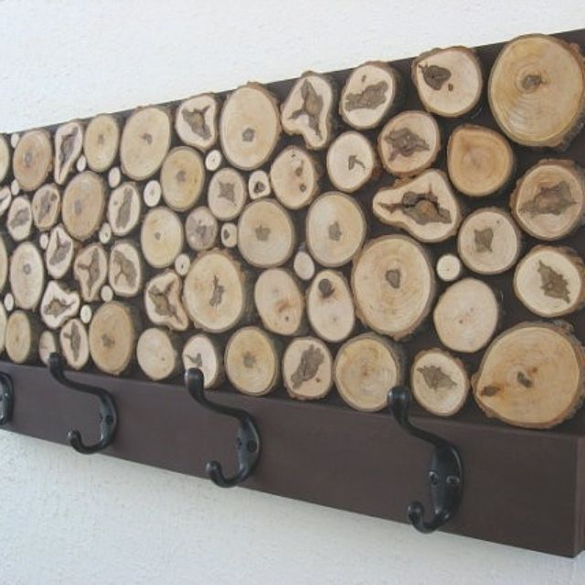 Hand Crafted Rustic Wood Coat Rack By Modern Rustic Art LLC Delectable Rustic Wooden Coat Rack