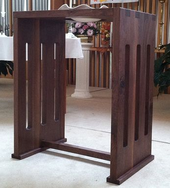 Custom Made Baptismal Font Stand