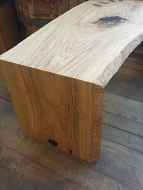 Custom Made Folding Ash Bench