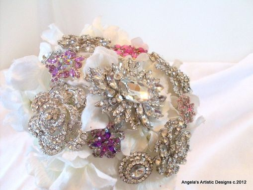 Custom Made Brooch Bridal Bouquet