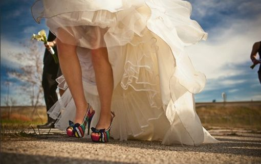 Custom Made Custom Bridal Shoes