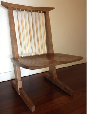 Custom Made Nakashima Inspired Chair.