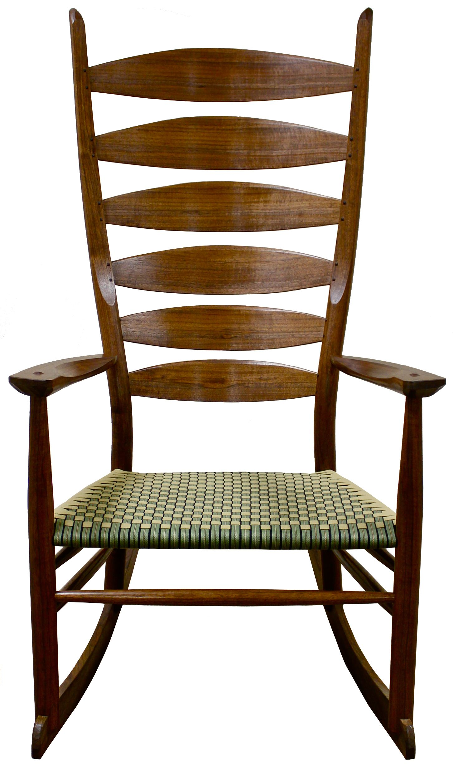 Ladder back chairs with cushions - Custom Made Boggs Classic Ladderback Rocking Chair