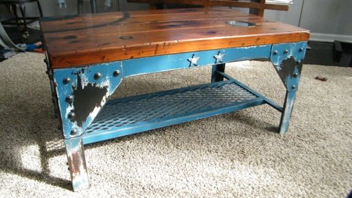 Custom Made Industrial Coffee Table