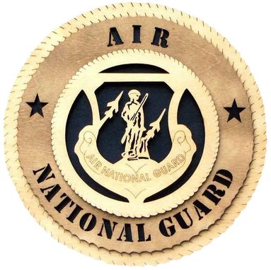 Custom Made Air National Guard Wall Tribute, Air National Guard Hand Made Gift