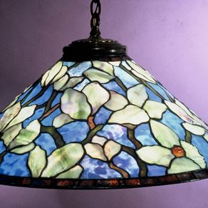 Custom lamp shades custommade 28 chinese magnolia hanging lamp five light mozeypictures Gallery