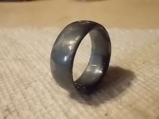 Custom Made Size 14 1/2  Mens Wedding Band
