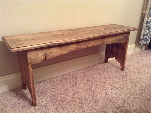 Custom Made Antique Style Bench