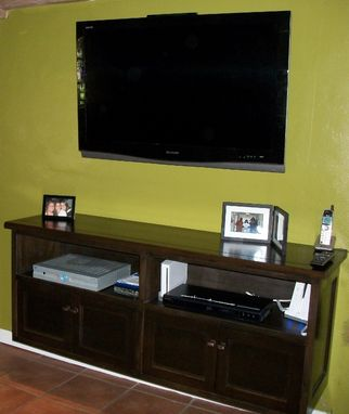 Custom Made Soto Entertainment Console