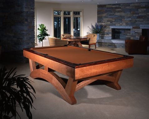 Custom Made Arch Pool Table